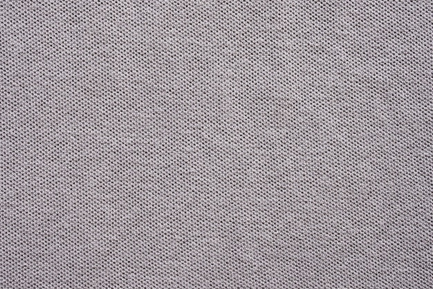 Gray cotton shirt fabric texture background