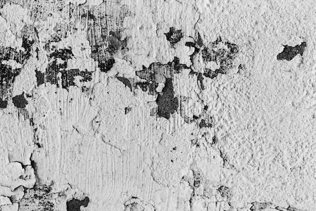 Gray cracked concrete texture background, closeup