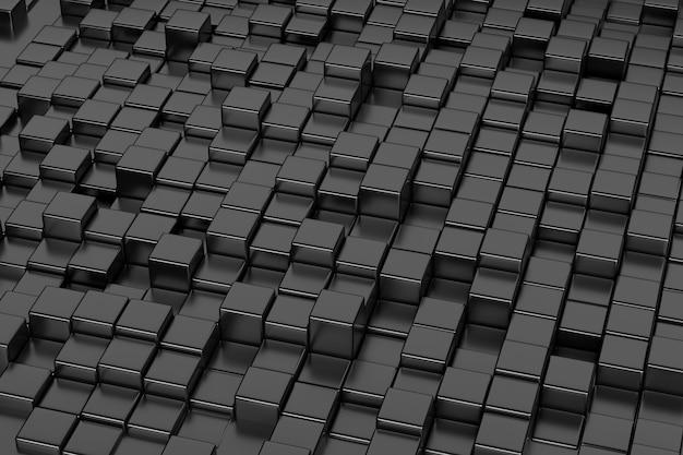 회색 큐브 패턴