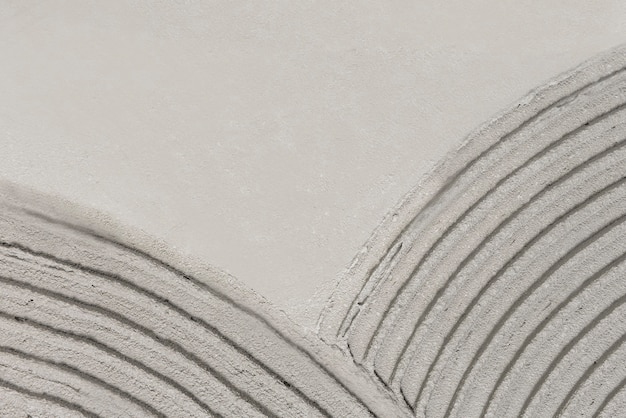 Gray curve patterned concrete textured background