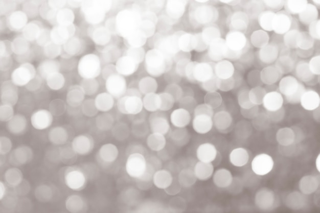 Gray defocused glittery design