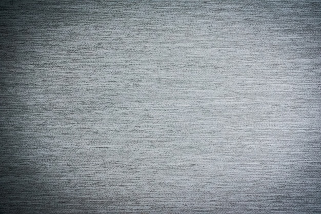 グレーの生地と綿のテクスチャ
