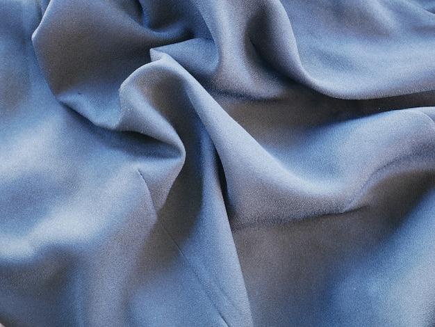 Gray fabric cloth background, texture silk cloth