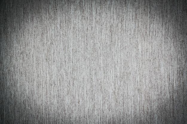 グレーの生地の綿のテクスチャ