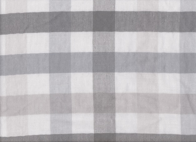 Gray fabric texture of textiles scots pattern.