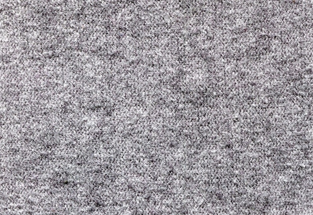 Gray fabric texture with villi