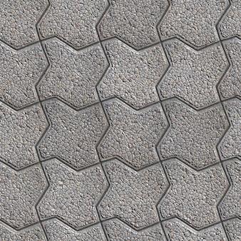 Серый узорчатый мостовой в виде изгиба квадрата. маленький размер. бесшовные бесшовное текстуры.