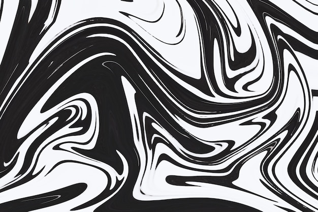 灰色の流体アートマーブリングペイントテクスチャ背景