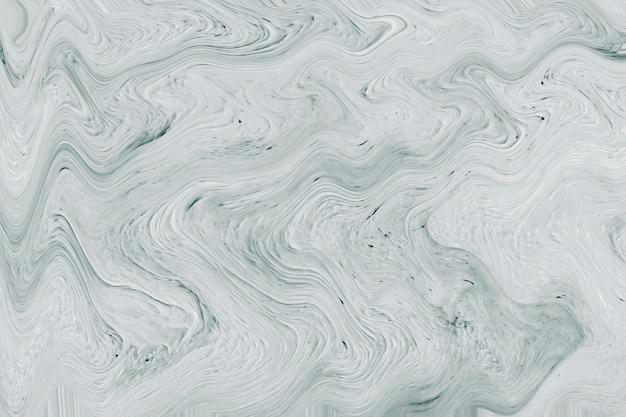 Gray fluid art marbling paint textured