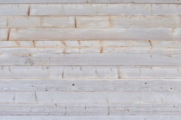 Gray horizontal untreated boards. texture background