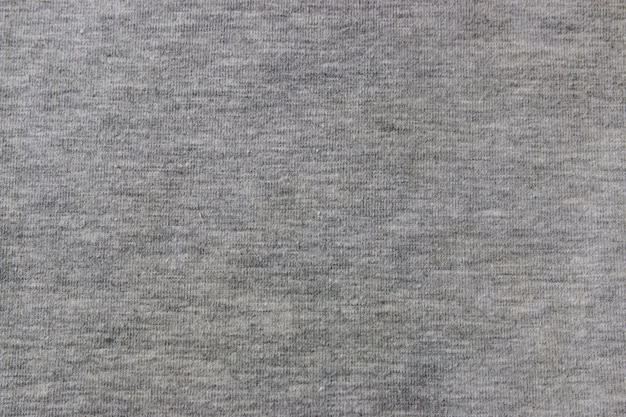 Gray knitted fabric closeup