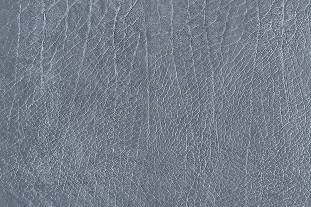 Gray leather grain texture