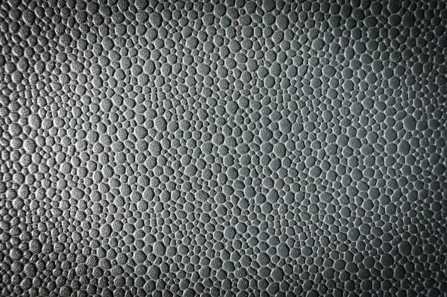 灰色の革のテクスチャ