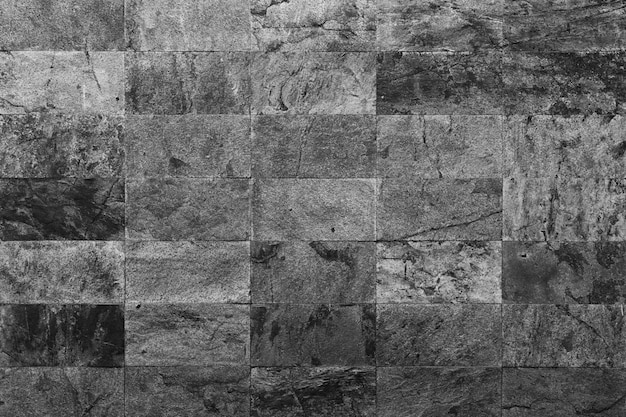 Gray marble tiles textured