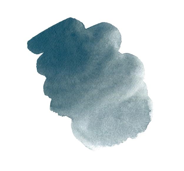 Серый marengo абстрактные рисованной акварель фон для текста или логотипа. акварельный клипарт