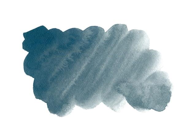 テキストまたはロゴの灰色のマレンゴ抽象手描き水彩背景。水彩クリップアート