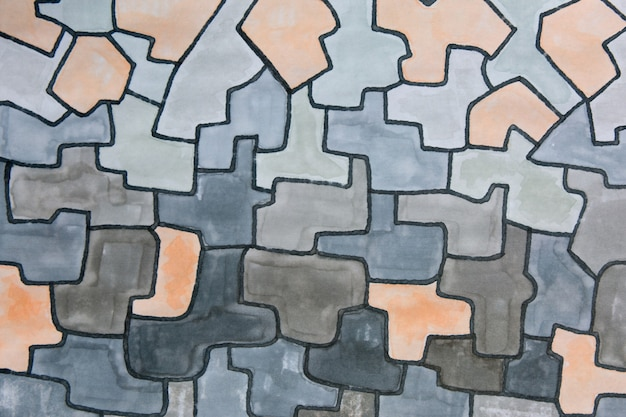 Gray marker artwork texture abstract background