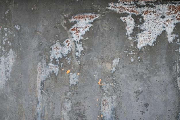 Серый металлический фон с текстурой. залил краску. металлическая текстура