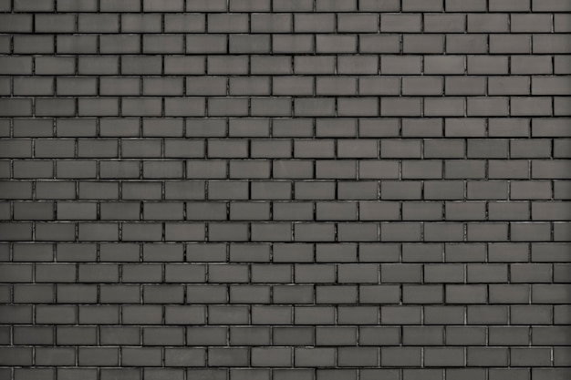 Gray modern brick wall textured background