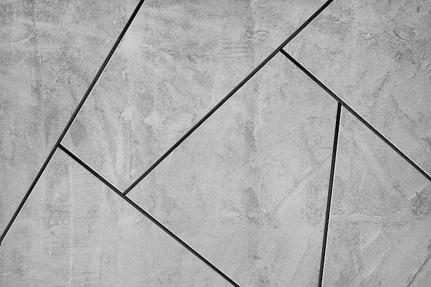 Fondo strutturato delle tessere di mosaico grigio