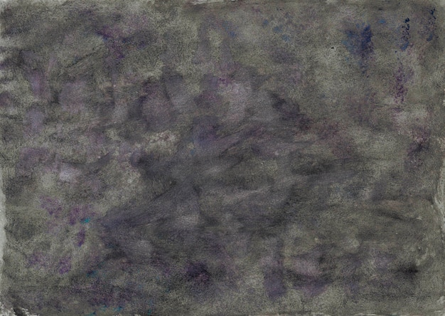 Gray paper texture with watercolor paint. background