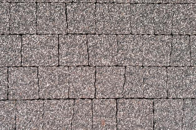 Серый тротуарная плитка городская улица дорога пол каменная плитка текстура фон, вид сверху.