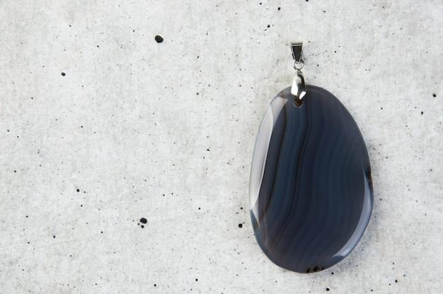 Gray pendants on gray