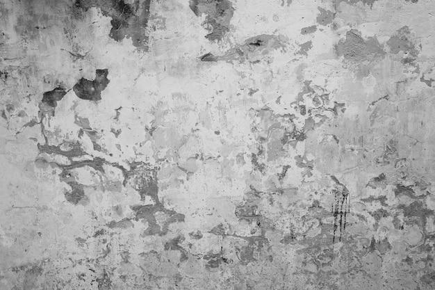 Gray plaster wall