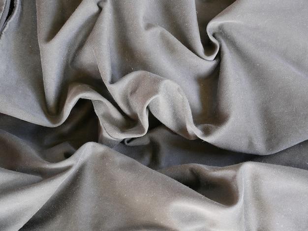 Gray silk cloth background,cotton fabric texture