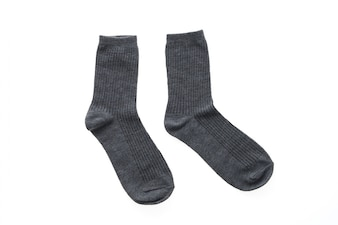 Gray socks
