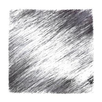 Серый квадрат с графическими штрихами. абстрактный фон. растровая иллюстрация