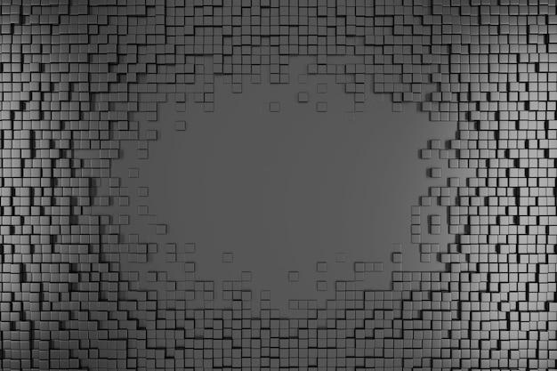 Серый образец квадратов.
