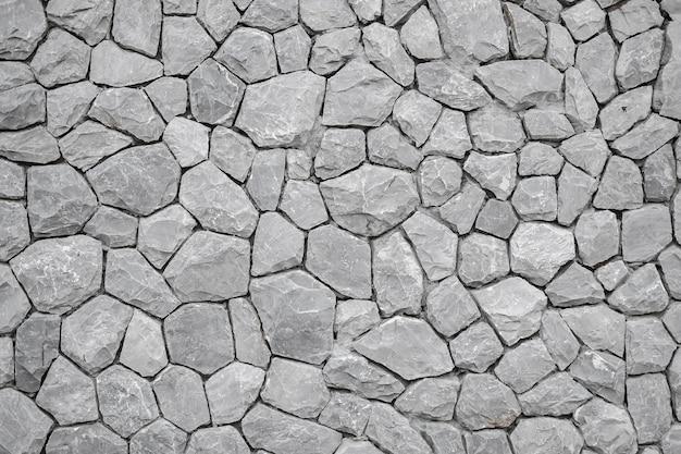 灰色の石の壁のテクスチャパターンの背景