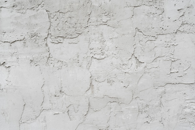 Gray stucco texture wall of building