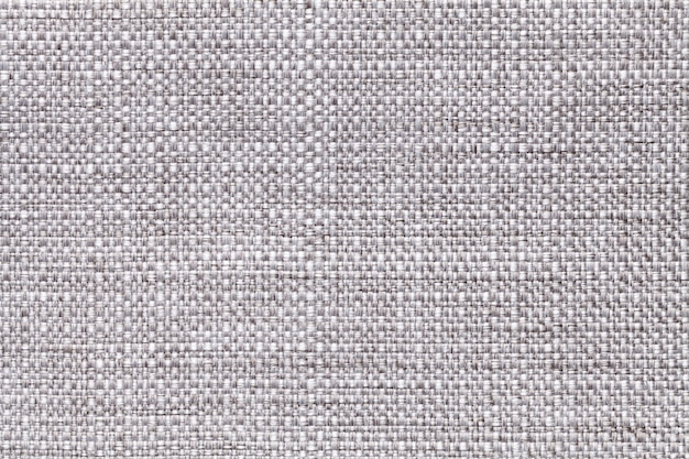 Gray textile background closeup