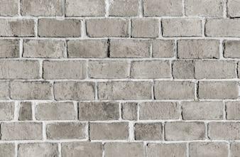 Gray textured brick wall background
