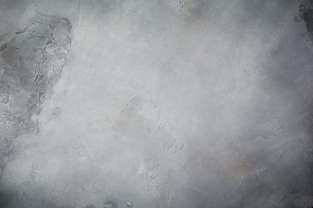 テキストの場所と灰色のテクスチャ石の背景。 。