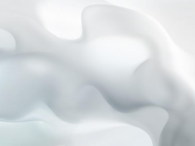 Gray thick smoke as background