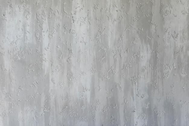 Gray wall with embossed texture