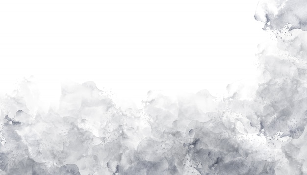 Gray watercolor background texture