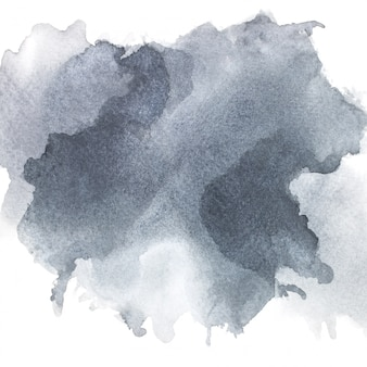 Gray watercolor on paper.