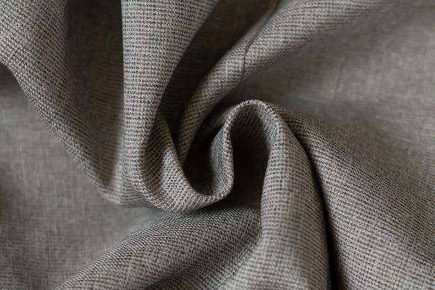 Образец серой мятой ткани