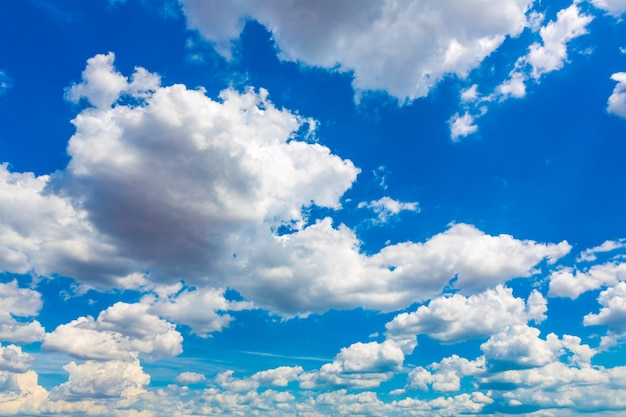 Great blue sky with clouds