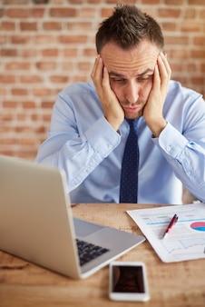 Grande fallimento in ufficio