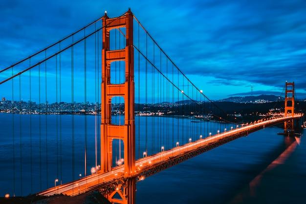 Great golden gate bridge, san francisco, california, usa