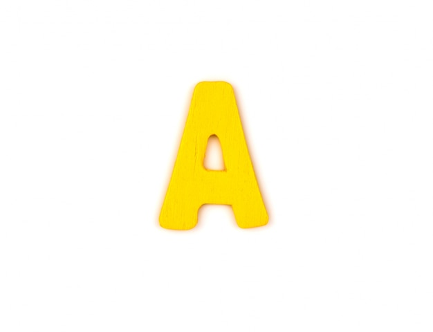 Великая буква а
