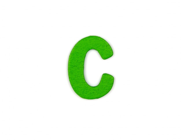 Great letter c
