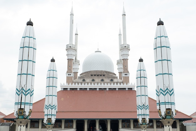 Great mosque of central java, indonesia