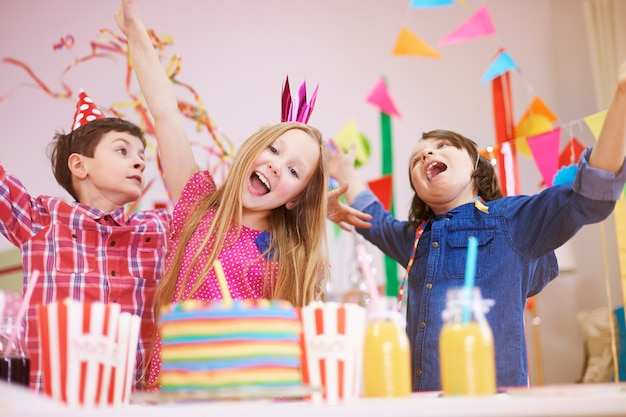 Great party on ninth birthday