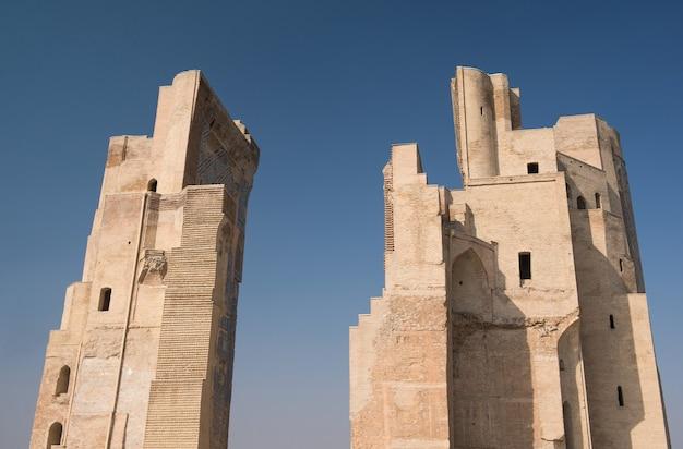 Great portal aksaray  white palace of amir timur uzbekistan shahrisabz architecture of asia